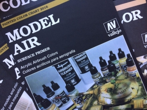 Wzornik kolorów Vallejo Model Air