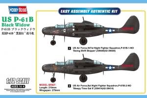 Hobby Boss 87262 US P-61B Black Widow - 1:72