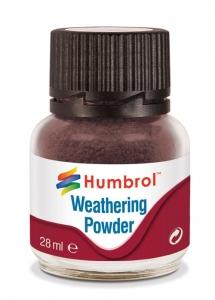 Humbrol AV0007 Pigment Weathering Powder 28 ml - Dark Earth AV0007