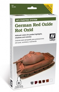 AFV Painting System: German Red Oxide