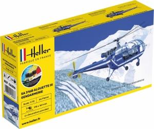 Heller 56286 Starter Set - SA Alouette III Gendarmerie - 1:72