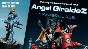 Vallejo 75003 Painting miniatures from A to Z Masterclass Vol.1 Angel Giraldez