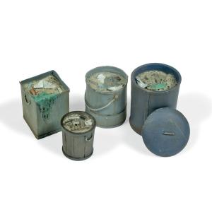 Vallejo SC213 Diorama Accessories Kosze na śmieci #2 1:35