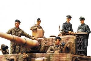 Hobby Boss 84401 Figurki - Niemiecka załoga czołgu (Normandia) - 1:35