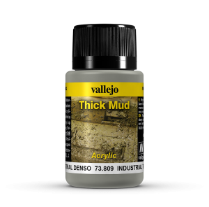 Vallejo 73809 Thick Mud 40 ml. Industrial Mud