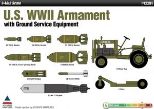 Academy 12291 U.S. WWII Armament 1:48