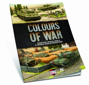 Vallejo 75013 Książka Colours of War - Painting WWII & WWIII miniatures