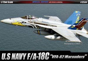 Academy 12534 F/A-18C U.S. Navy VFA-82 Marauders 1:72