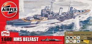 Airfix A50069 Gift Set - IWM HMS Belfast 1:600