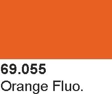 Mecha Color 69055 Orange Fluorescent