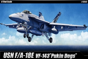 Academy 12547 USN F/A-18E VFA-143 Pukin Dogs 1:72