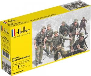 Heller 49606 Figurki - Grenadierzy pancerni niemieccy - 1:72