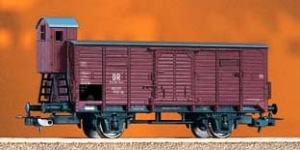 Wagon towarowy kryty G02, Db Brit-US-Zone, DR, Ep. III