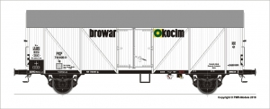 Roco 76559 Wagon chłodnia PKP Browar Okocim 716695, seria Sp, Ep. III