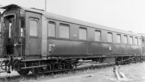 Wagon pasażerski AB4ü, DR, Ep. III