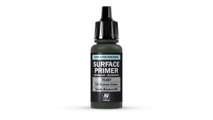 Vallejo 70607 Podkład akrylowy Surface Primer 17 ml. U.K. Bronze Green