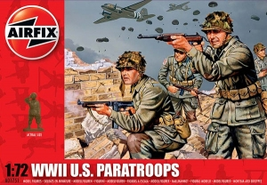 WWII US Paratroops 1:72