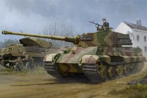 Niemiecki czołg PzKpfw VI SdKfz182 Tiger II (Henschel 1944) - 1:35