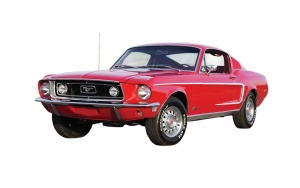 Airfix J6035 Quickbuild - Ford Mustang GT 1968