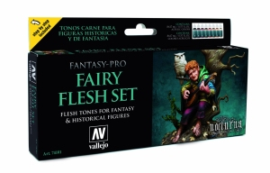 Vallejo 74101 Zestaw Game Color 8 farb - Fairy Flesh