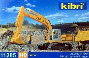 Kibri 11285 H0 Koparka Liebherr Litronic R934