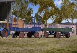 Kibri 15702 H0 Przyczepy rolnicze Fendt - 2 szt.