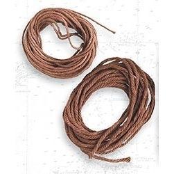 Lina bawełniana brązowa 1,50 mm, 5 m
