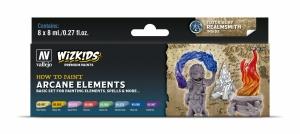 Vallejo 80258 Zestaw Wizkids Premium 8 farb - Arcane Elements
