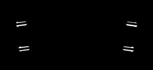 Połowa toru łukowego R2, R438 mm, 11,25st.