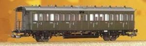Wagon pasażerski 2 kl., B, DRG, Ep. II