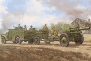 Transporter M3A1 z haubicą M-30 - 1:35