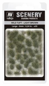 Vallejo SC418 Wild Tuft - Light Brown