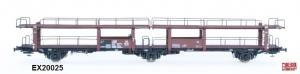 Exact-Train EX20025 Wagon do transportu samochodów Offs 55, 631 710 ABC Raster, DB, Ep. III
