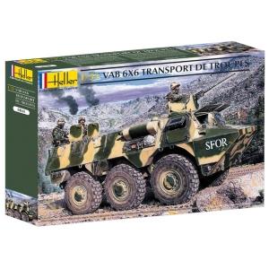 Heller 81141 Pojazd opancerzony VAB 6x6 - 1:35