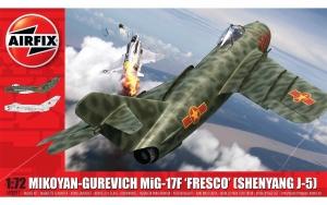Airfix A03091 Mikoyan-Gurevich Mig-17F Fresco (Shenyang J-5)- 1:72