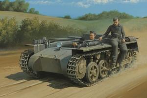 Hobby Boss 80144 German Pz.Kpfw.1 Ausf. A ohne Aufbau - 1:35