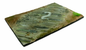 Vallejo SC102 Podstawa modelarska 31x21 cm Wooden Airfield surface 1:35