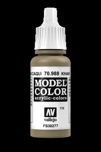 Vallejo 70988 Model Color 70988 115 Khaki