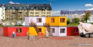 Kibri 38627 H0 Kontenery biurowo - mieszkalne 6 szt.