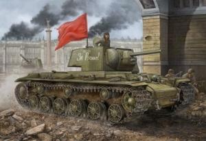 Hobby Boss 84812 Russian KV-1 Model 1942 Simplified Turret Tank - 1:48