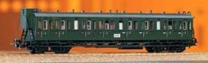 Wagon pasażerski Bh,B4, DB, Ep. III