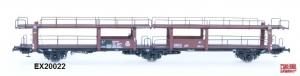 Exact-Train EX20022 Wagon do transportu samochodów Offs 55, 631 224, DB, Ep. III