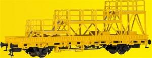 Kibri 26262 Wagon platforma z podestem naprawczym GleisBau