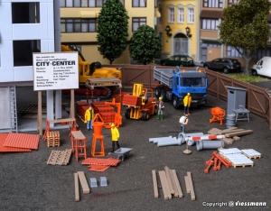 Kibri 38538 Plac budowy - akcesoria