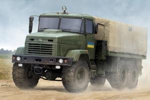 Hobby Boss 85512 Samochód ciężarowy KRAZ-6322 - 1:35