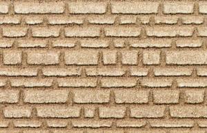 Mur z piaskowca H0/TT 28x14 cm