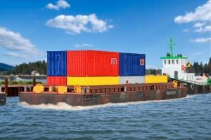 Kibri 38524 H0 Barka transportowa