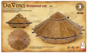 Academy 18136 da Vinci - Czołg