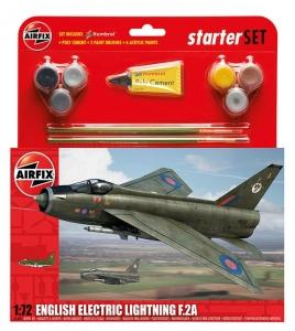 Airfix A55305 Starter Set - English Electric Lighting F2A 1:72
