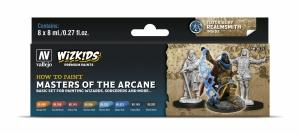 Vallejo 80257 Zestaw Wizkids Premium 8 farb - Masters of the Arcane